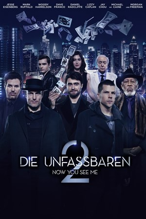 Cover Die Unfassbaren 2 - Now You See Me