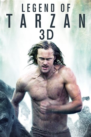 Cover Legend of Tarzan - 3D