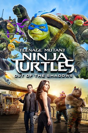 Cover Teenage Mutant Ninja Turtles: Out of the Shadows