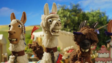 Trailer Shaun das Schaf - Die Lamas des Farmers