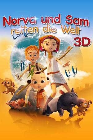 Cover Norva und Sam retten die Welt - 3D