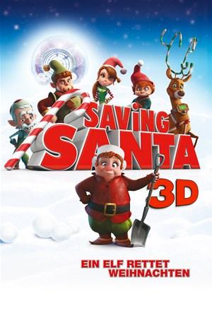 Cover Saving Santa – Ein Elf rettet Weihnachten - 3D